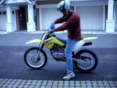2008 suzuki drz 125l - youtube