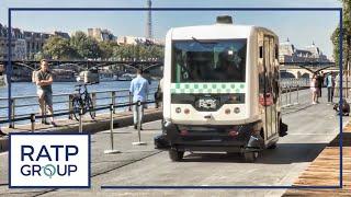 La RATP vous invite à découvrir les véhicules autonomes