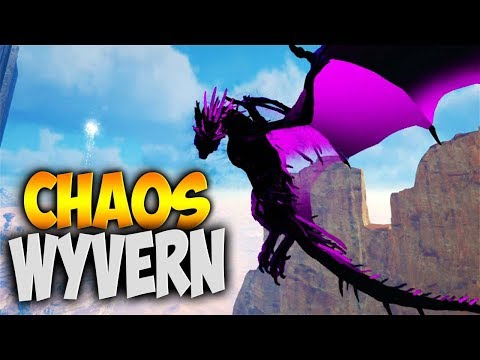 CHAOS WYVERN! A WHOLE OTHER LEVEL! (Modded Ark Primal Fear & Capitalism Wild West Ep 13)