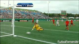 México vs Inglaterra Mundial Femenil Sub-20 Canadá 2014