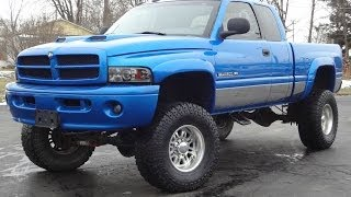 2001 Dodge Ram 2500 Sport 4X4 V10 LIFTED on 37s SOLD!!!