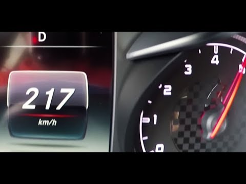 2015 MB C450 AMG T-Modell (S205) 0-100 kmh kph 0-60 mph Tachovideo Beschleunigung Acceleration