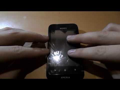 Небольшой обзор смартфона Sony Xperia tipo ST21i
