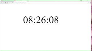 How To Make A Working Clock On A HTML Page Using Javascript.