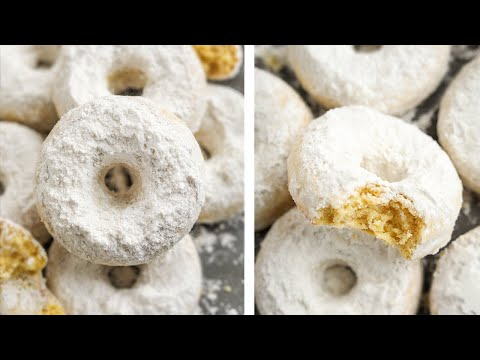 1 NET CARB Keto Donuts | Powdered Sugar Low Carb Donuts | Perfect FOR A KETO BREAKFAST or DESSERT