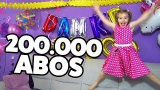 200.000 ABONNENTEN PARTY 🎉🎉  + DANKESCHÖN VERLOSUNG! Ihr könnt gewinnen!