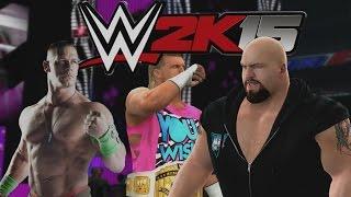 WWE 2K15 Gameplay en PS4 - (TLC), Probando el Juego de Lucha libre