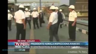 Buque Multiproposito Peruano sera entregado en Marzo del próximo Año