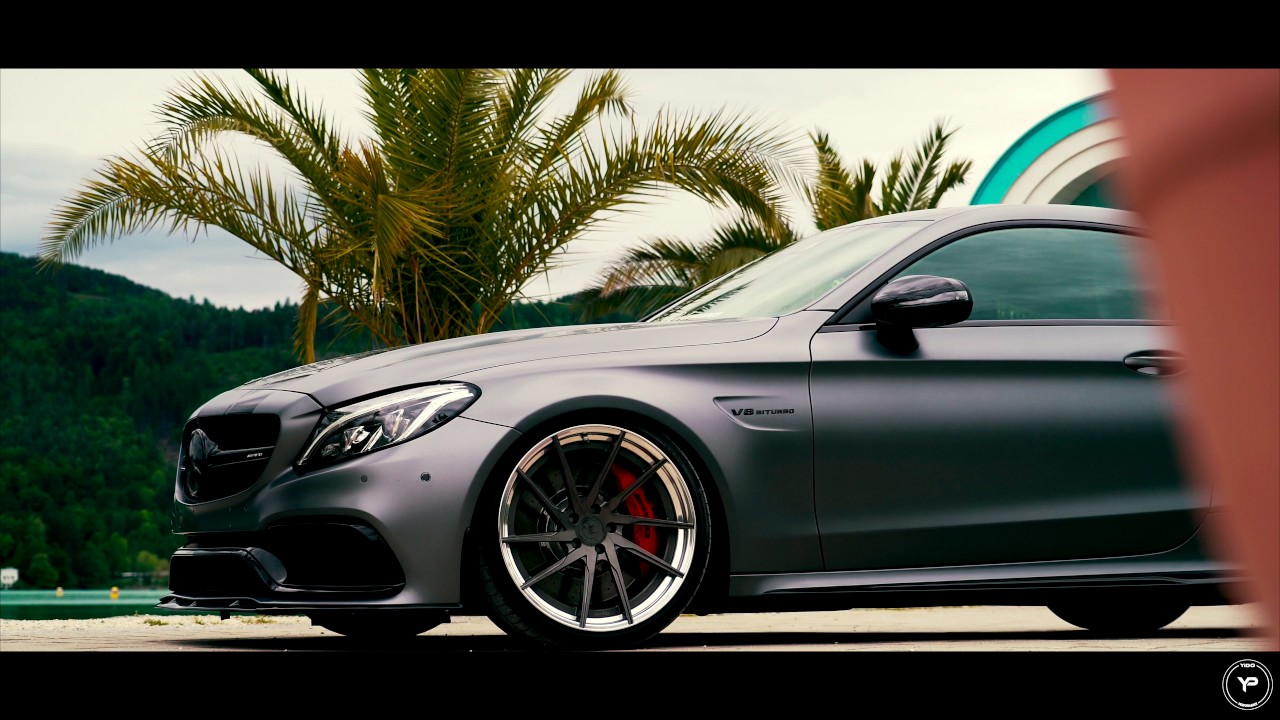 mercedes c63s amg coupe yido performance wheels youtube. Black Bedroom Furniture Sets. Home Design Ideas