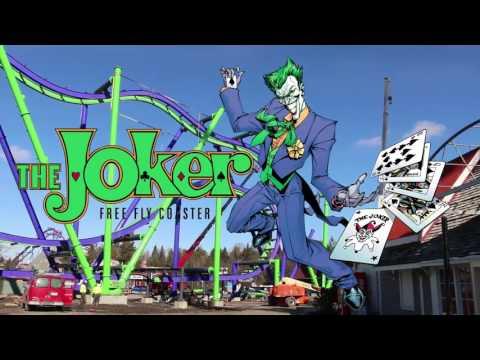 Joker construction update Six Flags Great America