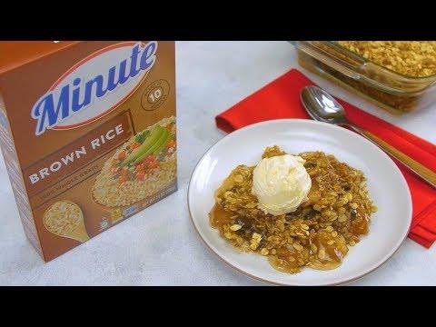Minute® Apple Cinnamon Rice Crisp