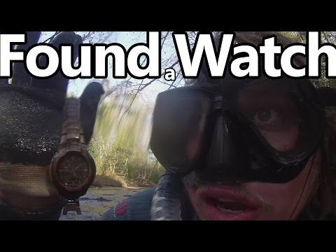 Thumbnail: River Treasure #27: Watch, Knife, Sunglasses, and Cold Water!!