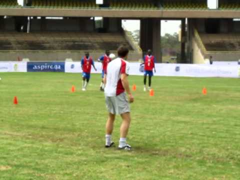 Aspire Football Dreams East Africa   Top 50 camp training1