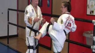 Side Kick Training  |  Hip strength for Martial Arts with resistance bands