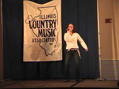 krystal mae singing covers for illinois country music association