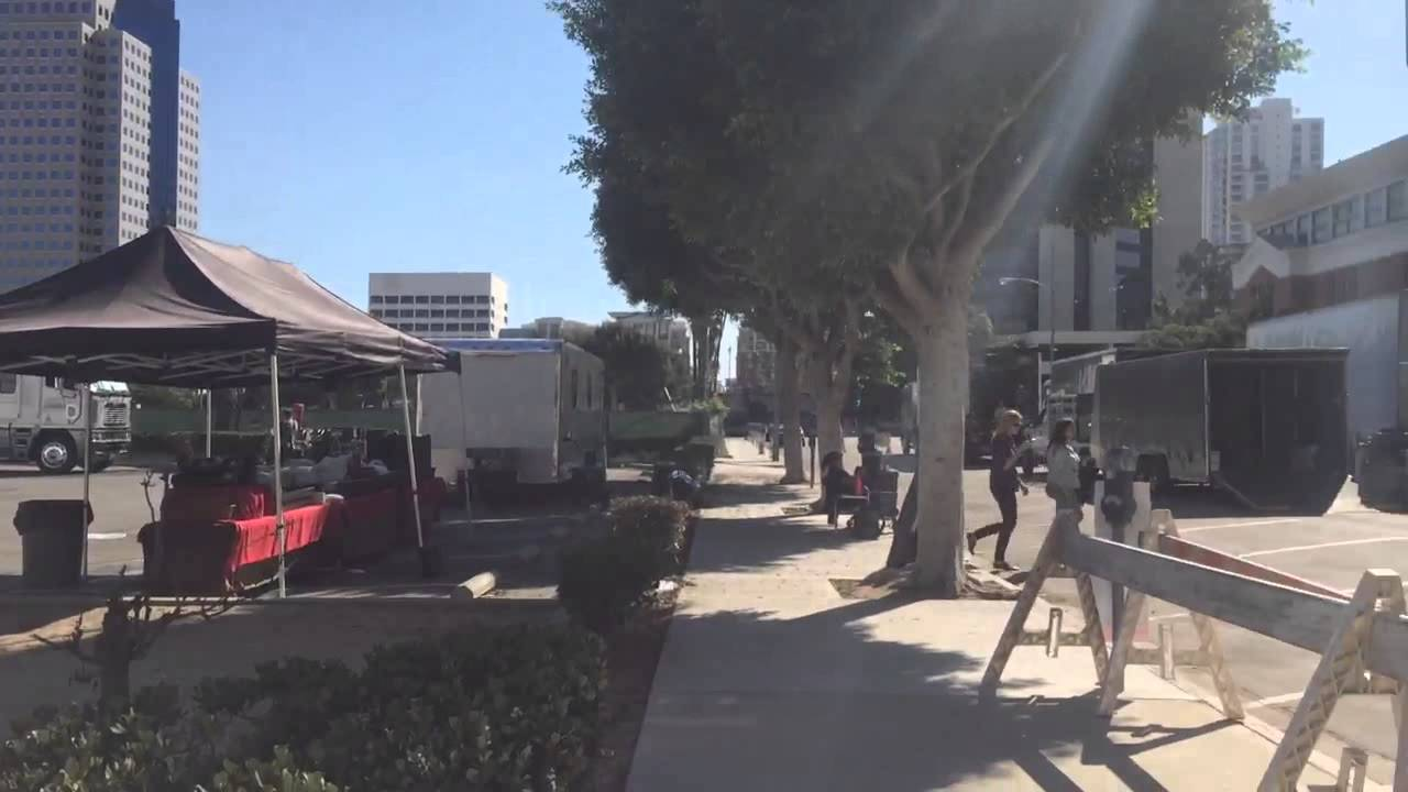 American Horror Story: Hotel filming at First Congressional Church in Long  Beach