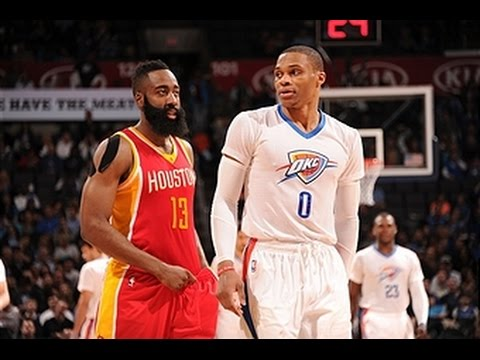 MVP Candidates Harden and Westbrook Duel in OKC