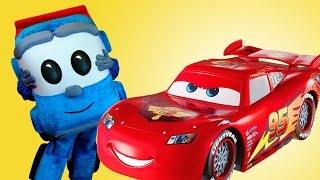 Игры гонки: Грузовичок Лёва и Молния Маквин! Видео про машинки #ЖивойЛёва. Игры больница. #ЛеваЖЖот