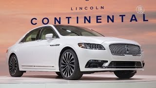видео Автосалон в Детройте: Lincoln MKX нового поколения