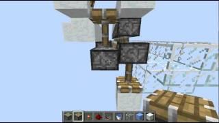 Minecraft: Ice machine tutorial