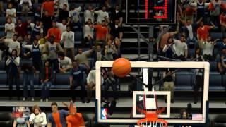 amazing putback dunk!