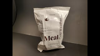 2019 MCW Mexican Chicken \u0026 Rice Cold Weather MRE Review Meal Ready To Eat Tasting Test