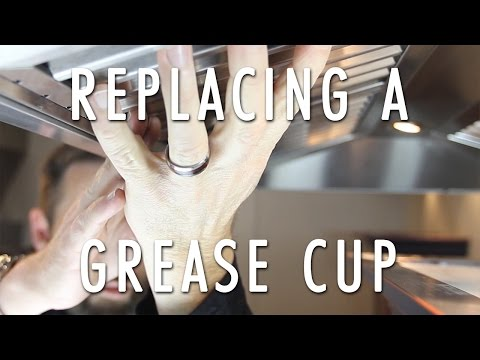 How to install a grease cup in a ZLINE Range Hood