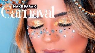 MAKE PARA O CARNAVAL - PARTE 1