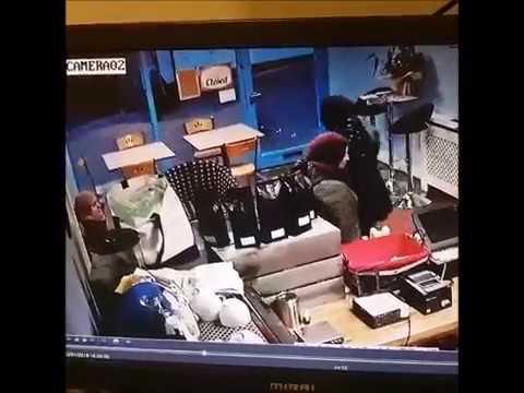 theft caught on cctv lazy cat cafe youtube. Black Bedroom Furniture Sets. Home Design Ideas