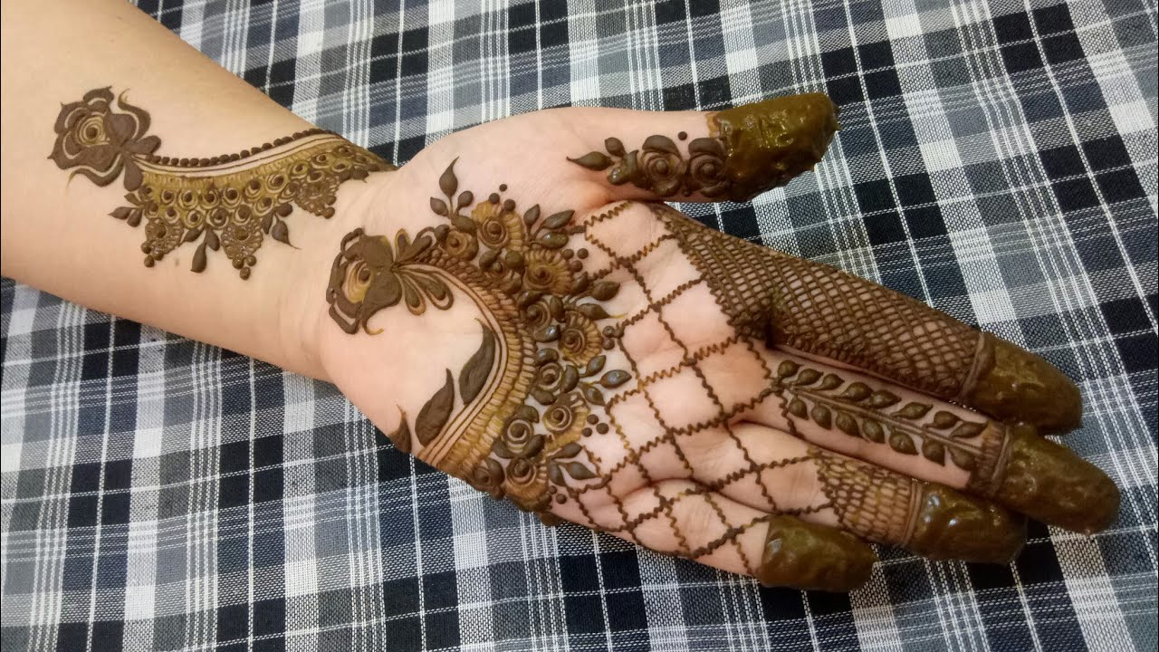 Khaleeji Henna Design 40 Heena Vahid Youtube