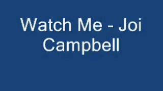 Watch Joi Campbell Watch Me Music To Murder She Wrote video