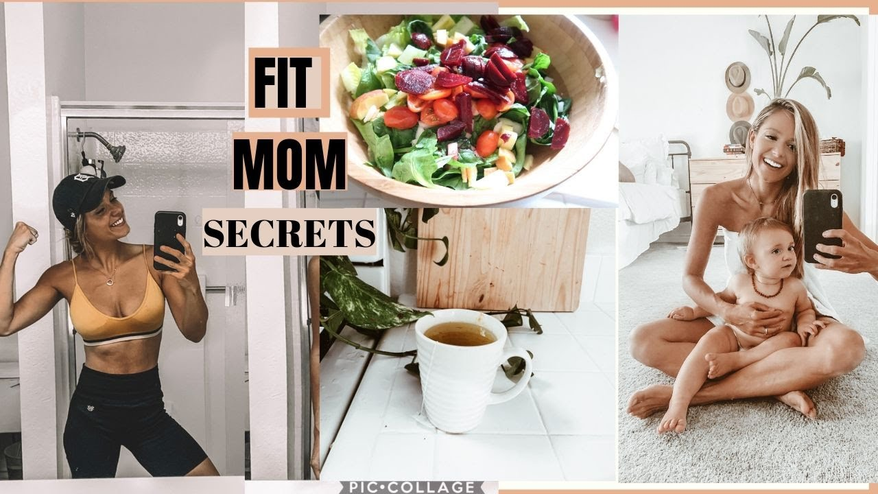 How to stay fit after baby. Mommy fitness Motivation. // Ivy Carnegie