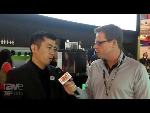 ISE 2015: Gary Kayye Speaks with James Hsu of Vivitek