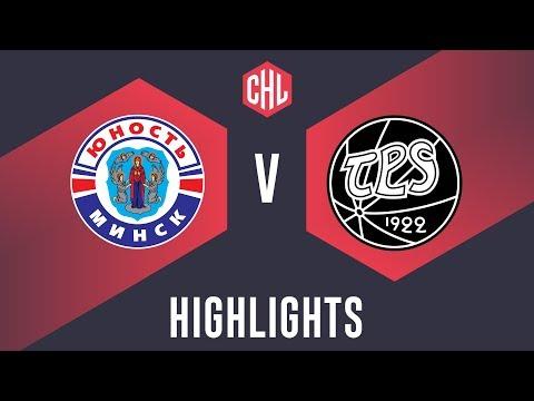 Highlights: Yunost Minsk vs. TPS Turku