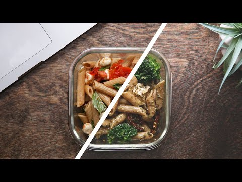 Meal Prep Pasta Salad 4 Ways • Tasty