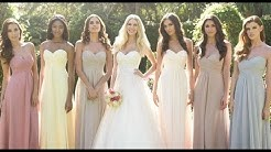 English Garden Wedding Bridesmaid Dresses