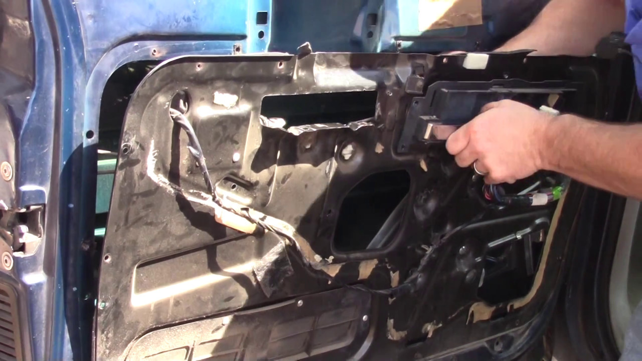 medium resolution of 1988 97 chevy gmc truck window regulator removal