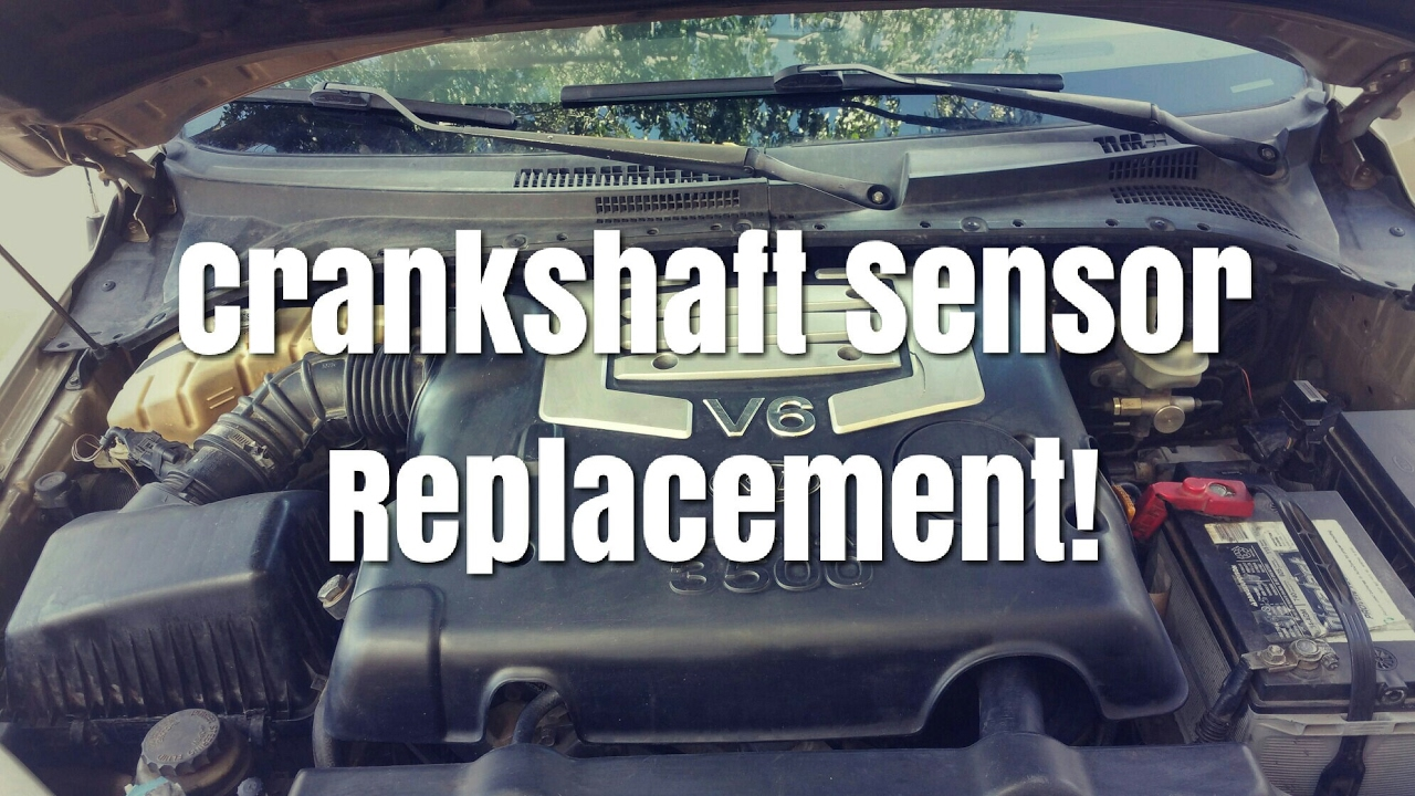 2002 2006 kia sorento crankshaft sensor replacement [ 1280 x 720 Pixel ]