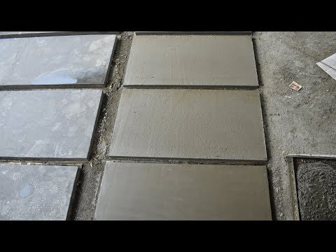 Readymade Concrete Slab Making Process in India