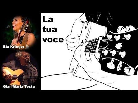 Gian Maria Testa + Bia Krieger - LA TUA VOCE