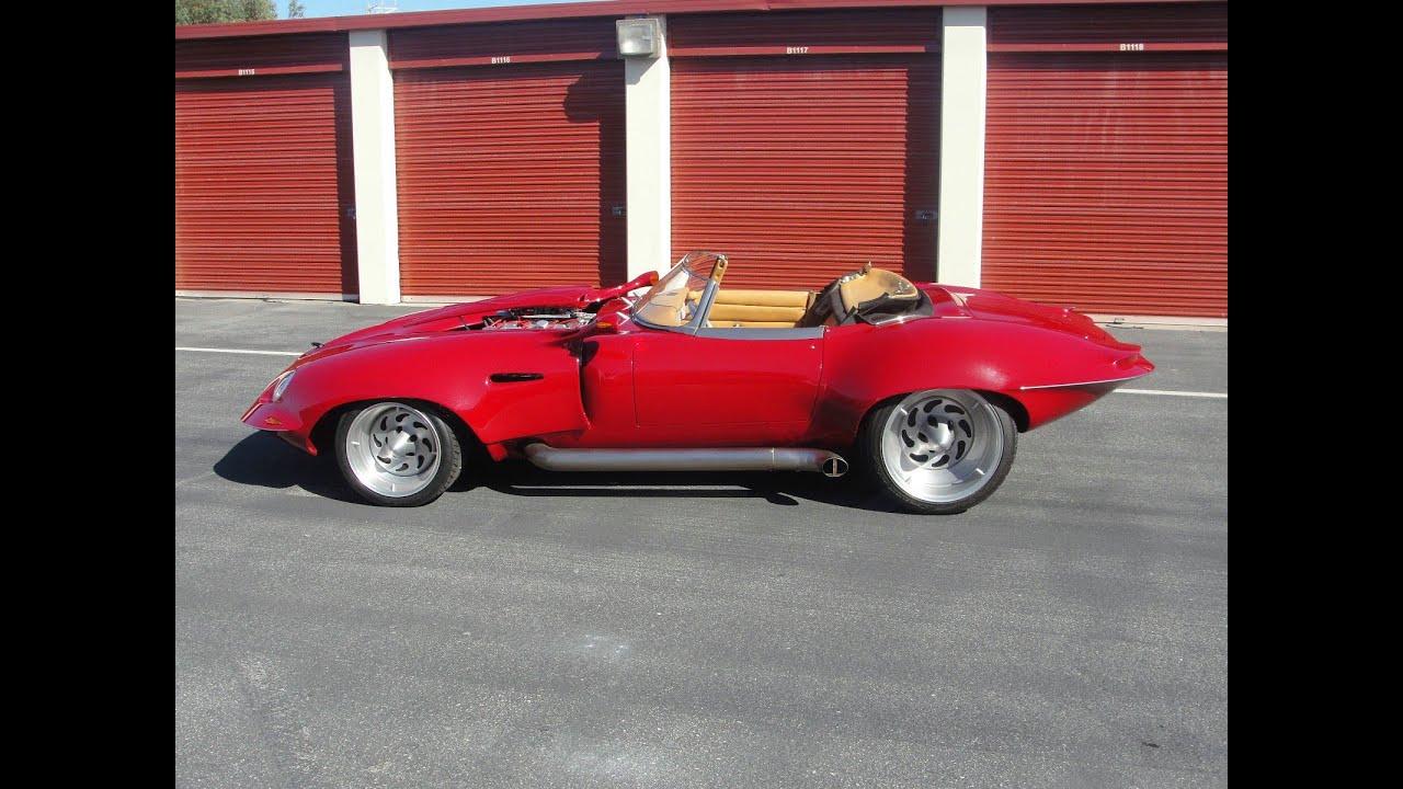 Chopped Custom Boss 429 1967 Jaguar Xke Youtube
