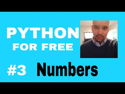 Learn Python for High Paying Job Free Course #3 Numbers and Operators