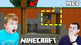 - ДОМ ПОД ЗЕМЛЕЙ В МАЙНКРАФТ Строим УБЕЖИЩЕ от ЗОМБИ в Minecraft Видео для детей Матвей Котофей MCP