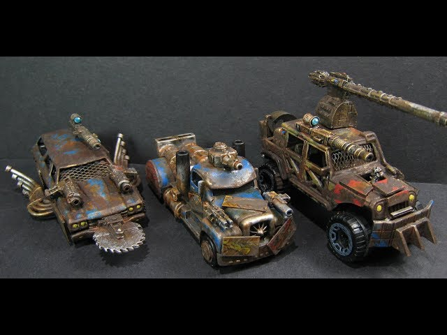 Gaslands - Taking Apart Your Cars (without a Dremel!)