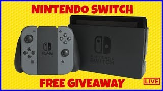 How To Get A Free Switch Giveaway, Nintendo Giveaway, Nintendo Switch Giveaway, Free Nintendo Swith