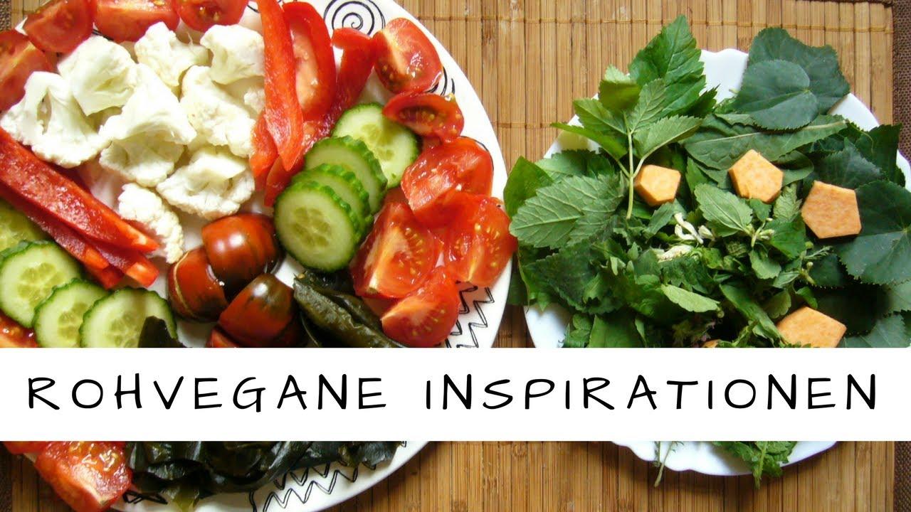 Vegane Rohkost -  köstliche Inspirationen