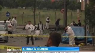 Atentat cu maşină-capcană la Istanbul. Cel puţin şapte oameni au fost răniţi