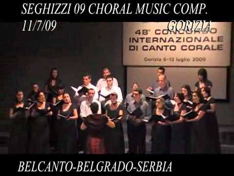 Seghizzi 2009 Choral Music Competition 11/7/09
