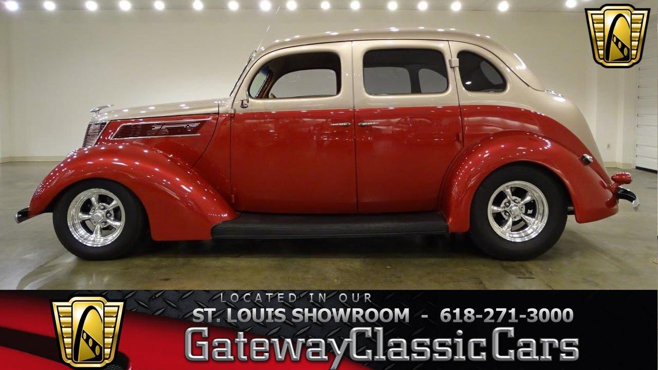 1937 ford sedan stock 7044 gateway classic cars st louis showroom 1937 Ford Humpback 1937 ford sedan stock 7044 gateway classic cars st louis showroom