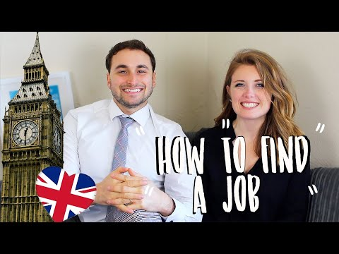How to find Jobs in England